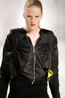 Collection 'LEO' | Flying jacket | 2009 | Photography by Ron Stam