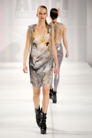 Collection 'LEO' | Lion Iron Dress | 2009 | Photography by Ron Stam